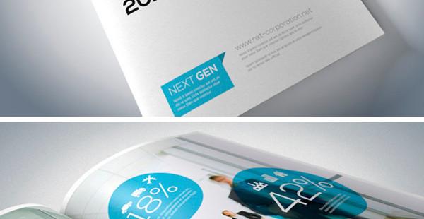 64 kreatywne broszury oraz ulotki - inspiracje.